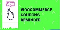Coupons woocommerce reminder