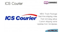 Courier ics shipping woocommerce for method