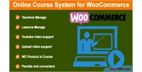 Course online woocommerce for system