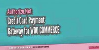 Credit authorize.net card woocommerce for gateway
