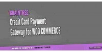 Credit braintree card woocommerce for gateway