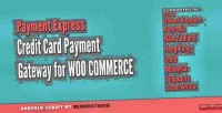 Credit paymentexpress card woocommerce for gateway