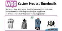 Custom woo product thumbnails