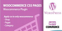 Custom woocommerce css categories pages accounts products