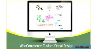 Custom woocommerce decal design