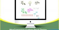 Custom woocommerce decal design