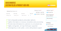 Custom woocommerce fields ons add product