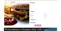 Custom woocommerce fields price custom with