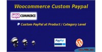 Custom woocommerce paypal