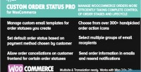 Customer woocommerce pro status order