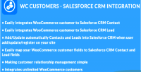 Customers woocommerce integration crm salesforce
