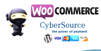 Cybersource woocommerce payment gateway