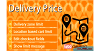 Delivery woocommerce price