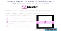 Deposit woocommerce plugin