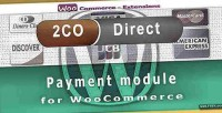 Direct 2checkout payment woocommerce for gateway