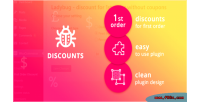Discount ladybug for coupons 1st without order