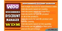Discount woocommerce manager wdm