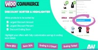 Discount woocommerce sorter highlighter