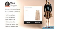 Display woomapper woocommerce style in products