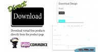 Download direct for woocommerce