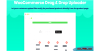 Drag woocommerce drop upload uploader file ajax