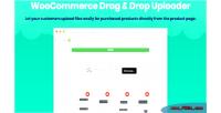 Drag woocommerce drop upload uploader file ajax