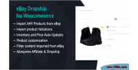 Dropship ebay for woocommerce