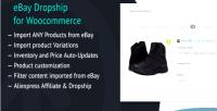Dropship ebay for woocommerce