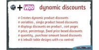 Dynamic woocommerce discounts