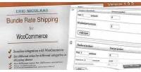 E woocommerce commerce shipping rate bundle