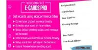 Ecards woocommerce pro