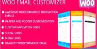 Email woocommerce customizer