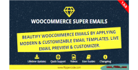 Email woocommerce plugin wordpress customizer