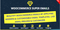 Email woocommerce plugin wordpress customizer