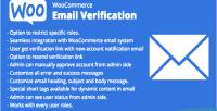 Email woocommerce verification