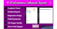 Enhanced woocommerce reports