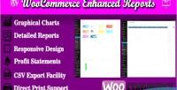 Enhanced woocommerce reports