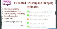 Estimated woocommerce delivery estimates shipping and