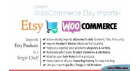 Etsy woocommerce importer