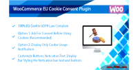 Eu woocommerce cookie consent complete plugin compliance law gdpr