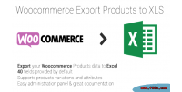 Export woocommerce xls to products