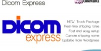 Express dicom shipping woocommerce for method