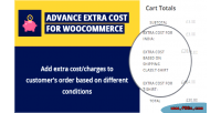 Extra advance cost woocommerce for plugin