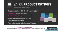 Extra woocommerce product options