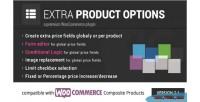 Extra woocommerce product options