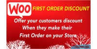 First woocommerce order discount