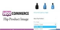 Flip woocommerce product image