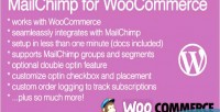 For mailchimp extension wordpress woocommerce