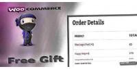 Free woocommerce gift