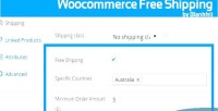 Free woocommerce shipping plugin